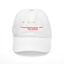 life is simple(blk) Baseball Cap