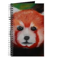 Red Panda Pastel Piece Journal