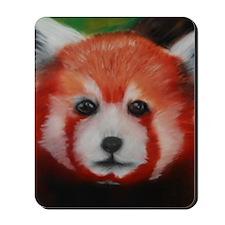 Red Panda Pastel Piece Mousepad