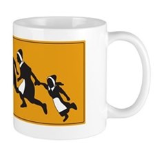 Pilgrims - The first illegal aliens Small Mug