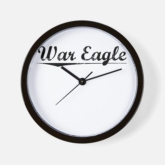 War Eagle, Vintage Wall Clock