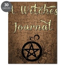 A Witches journal Puzzle