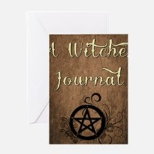 A Witches journal Greeting Card