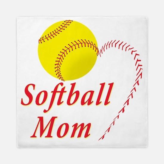 Softball Mom Queen Duvet