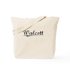 Walcott, Vintage Tote Bag