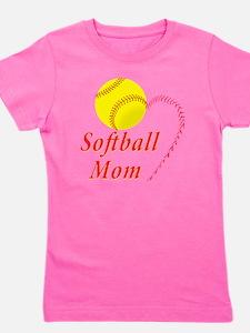 Softball Mom Girl's Tee