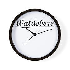 Waldoboro, Vintage Wall Clock