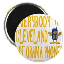 Obama Phone Magnet