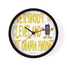 Obama Phone Wall Clock
