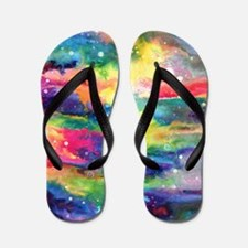 Cosmos Puzzle Flip Flops