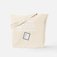 Hurt You List Tote Bag