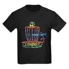 Disc Golf Basket Art T-Shirt