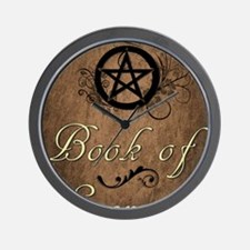 Book of secrets2 Wall Clock