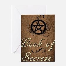 Book of secrets2 Greeting Card