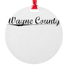 Wayne County, Vintage Ornament