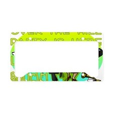 OTH Boogie Party License Plate Holder