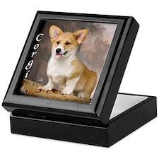 Pembroke Welsh Corgi Puppy Keepsake Box