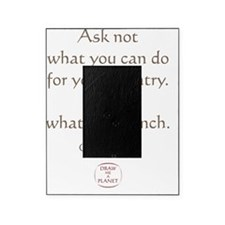 ASK WHATS FOR LUNCH Picture Frame