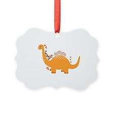 Cutie-Saurus Dinosaur  Ornament