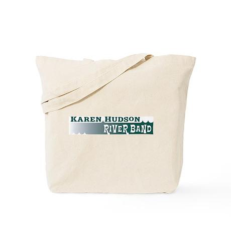 Karen Hudson River Band Tote Bag