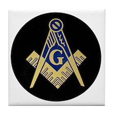 Simply Masonic Tile Coaster