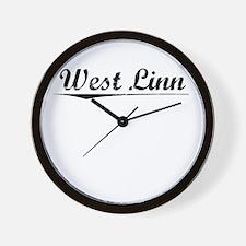 West Linn, Vintage Wall Clock