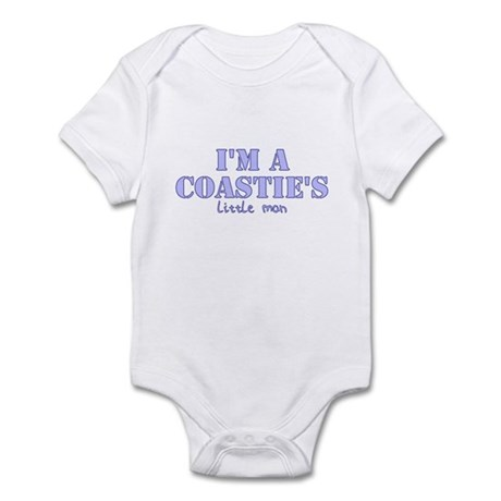 Coastie's Little Man Infant Bodysuit