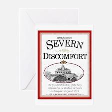 Severn Discomfort Greeting Card