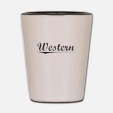 Western, Vintage Shot Glass