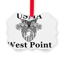Old School West Point Ornament