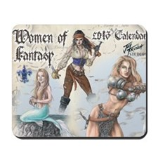 Women of Fantasy 2013 Cal Cvr Mousepad