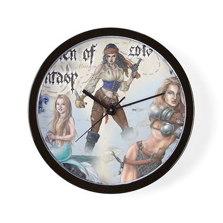 Women of Fantasy 2013 Cal Cvr Wall Clock