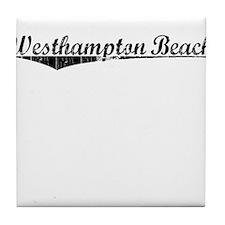 Westhampton Beach, Vintage Tile Coaster