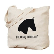 Rocky Mountain Horse Tote Bag