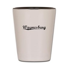 Waynesburg, Vintage Shot Glass