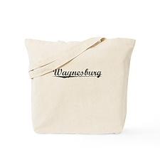 Waynesburg, Vintage Tote Bag