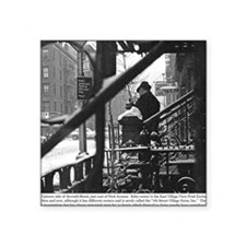 "January 1977 - 7th Street a Square Sticker 3"" x 3"""