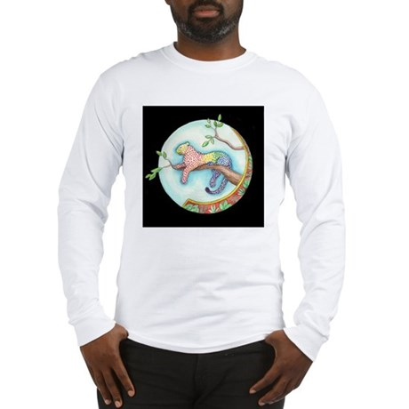 Rainbow Leopard Long Sleeve T-Shirt