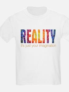 Reality Imagination Kids T-Shirt
