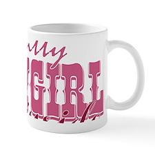 Itty Bitty Cowgirl Inside Mug