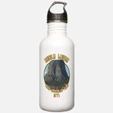 Devils Tower Close Eno Water Bottle