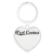 West Covina, Vintage Heart Keychain