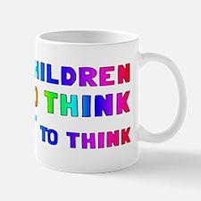 teach think Mug