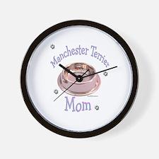 Manchester Terrier Mom Wall Clock