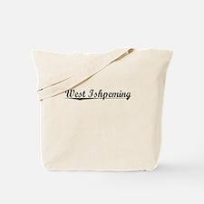 West Ishpeming, Vintage Tote Bag