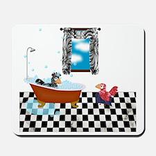Shower Curtain: P  E Take a Bath Mousepad