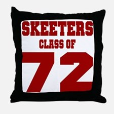 MHS Class Of 1972 Throw Pillow