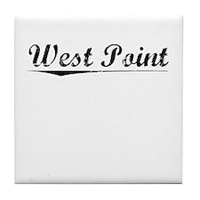 West Point, Vintage Tile Coaster