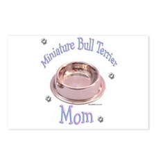 Miniature Bull Mom Postcards (Package of 8)