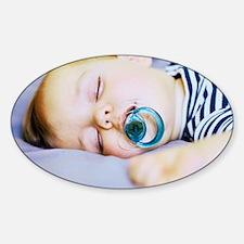 Sleeping baby boy Decal